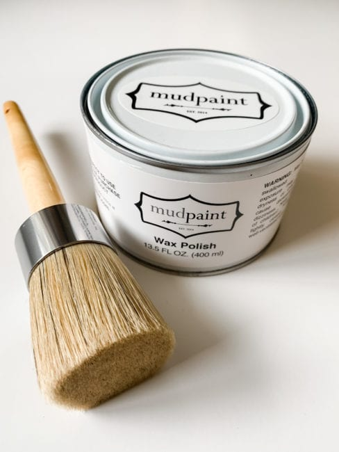 learn how to clean your MudPaint wax brush