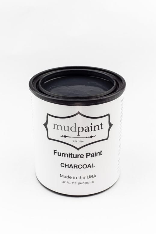 quart container of clay paint by MudPaint