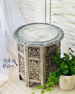 learn how to whitewash with MudPaint Clay furniture paint